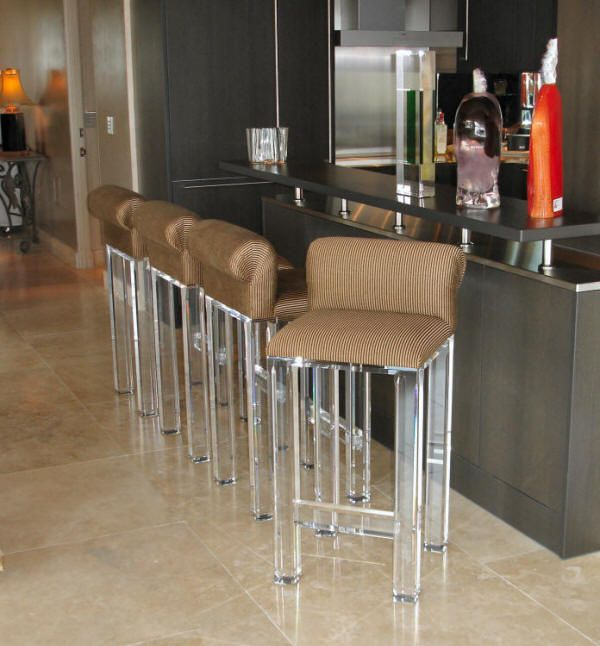 ikea stuhl aus acrylic für bares