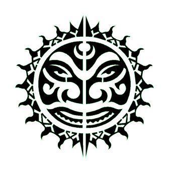 pochoir tatouage temporaire unik tattoo soleil maori tribal 34 tattoos pinterest. Black Bedroom Furniture Sets. Home Design Ideas