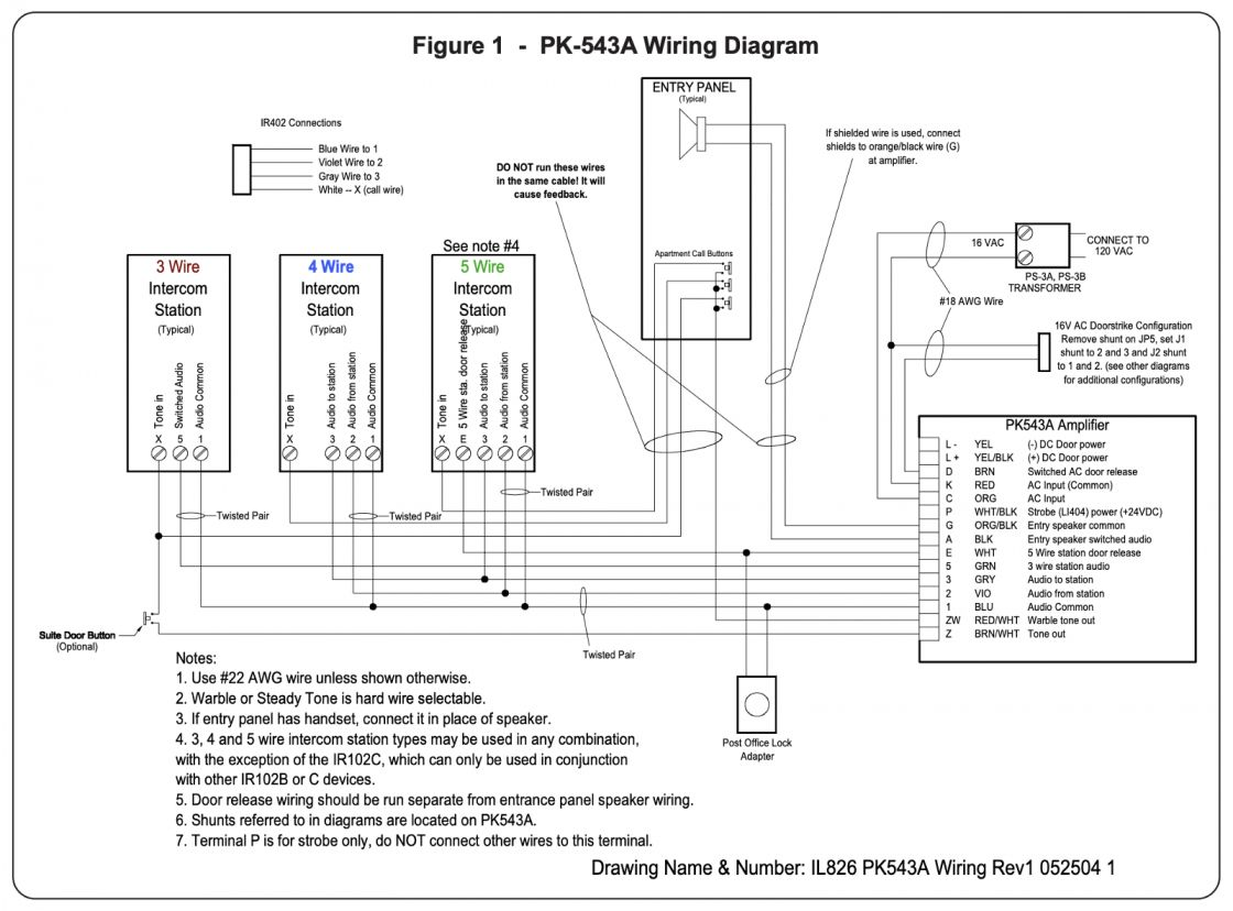 17 Intercom Wiring Diagram Diagram Intercom Electrical Wiring Diagram