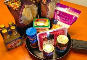 We love our friends! Thanks Mod Housewife for this fun recipe for Spicy Beef Skillet Nachos!