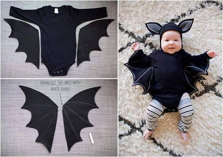 43 Cutest Ever Kids Halloween Costumes Every Mom Would Want Bat - mom halloween costume ideas