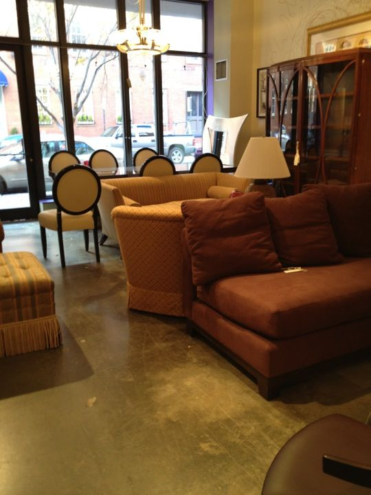 High end furniture consignment shop