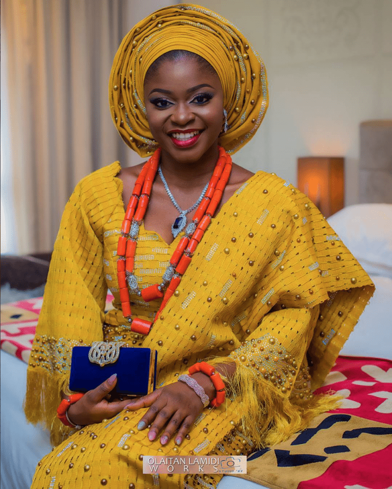 Nigerian Traditional Yoruba Wedding: #TheAyush! Jaiyeola & Ayoola's Yellow-Fabulous Yoruba