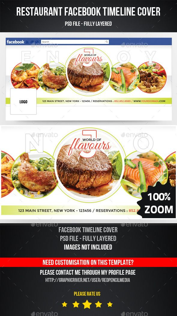 Restaurant Facebook Timeline Cover  Timeline Covers Facebook