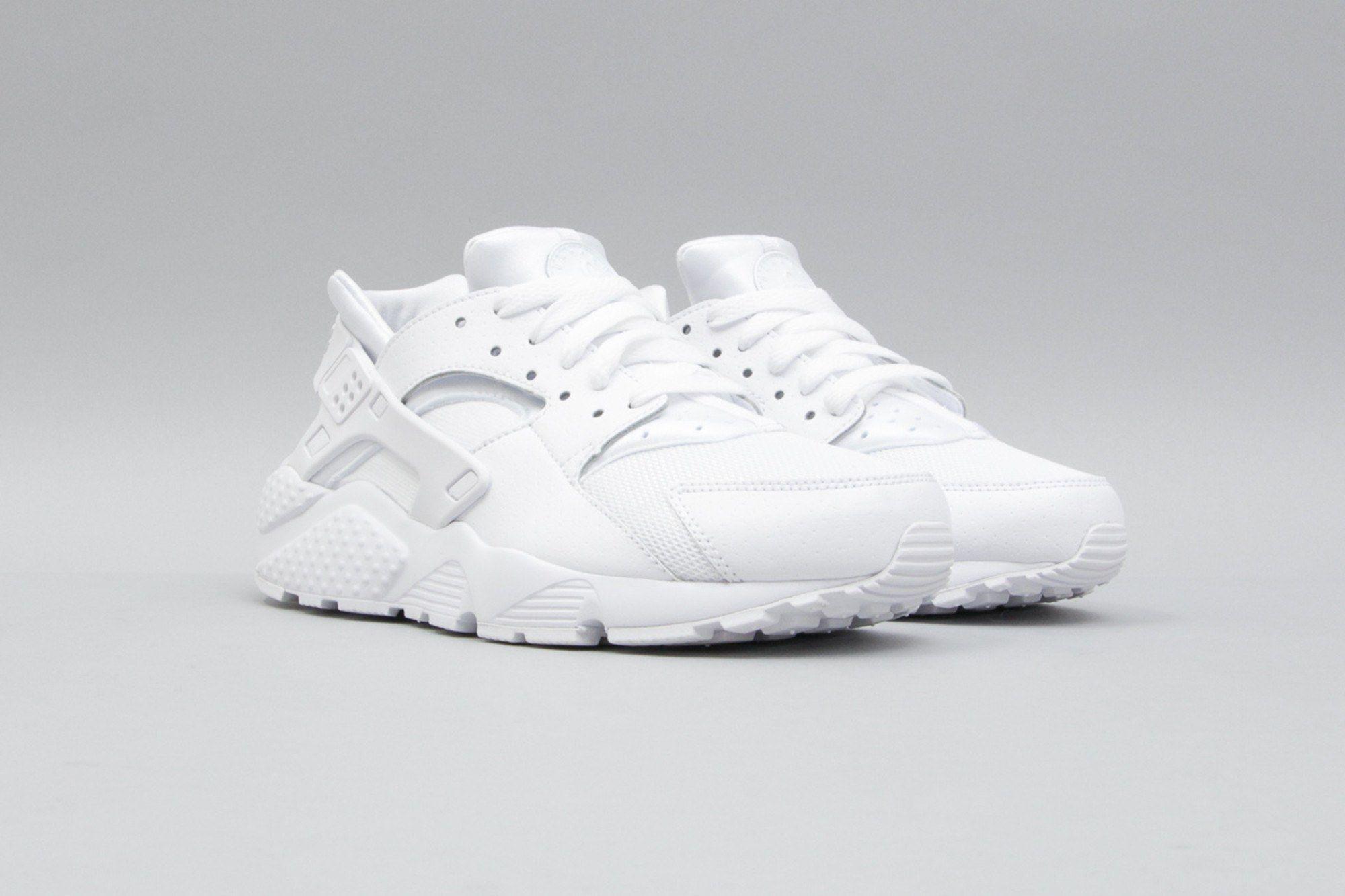 Nike Air Huarache Run GS White White Pure Platinum 654275