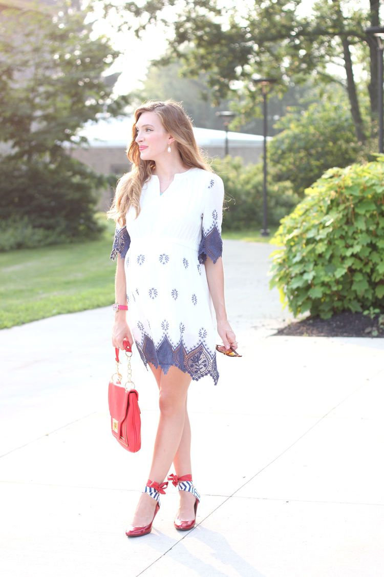Red, White, and Blue — Enchanting Elegance