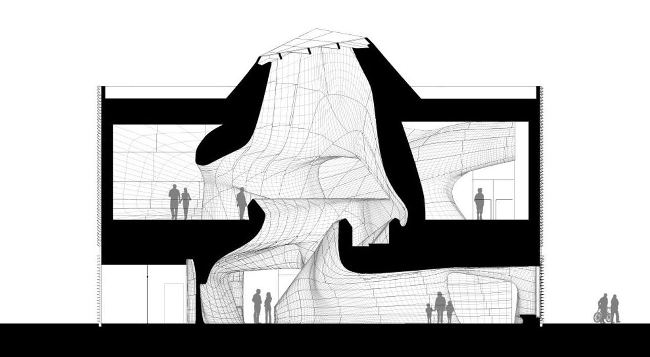 Architectural Drawings: 10 Cultural Landmarks in Section - Architizer Journal