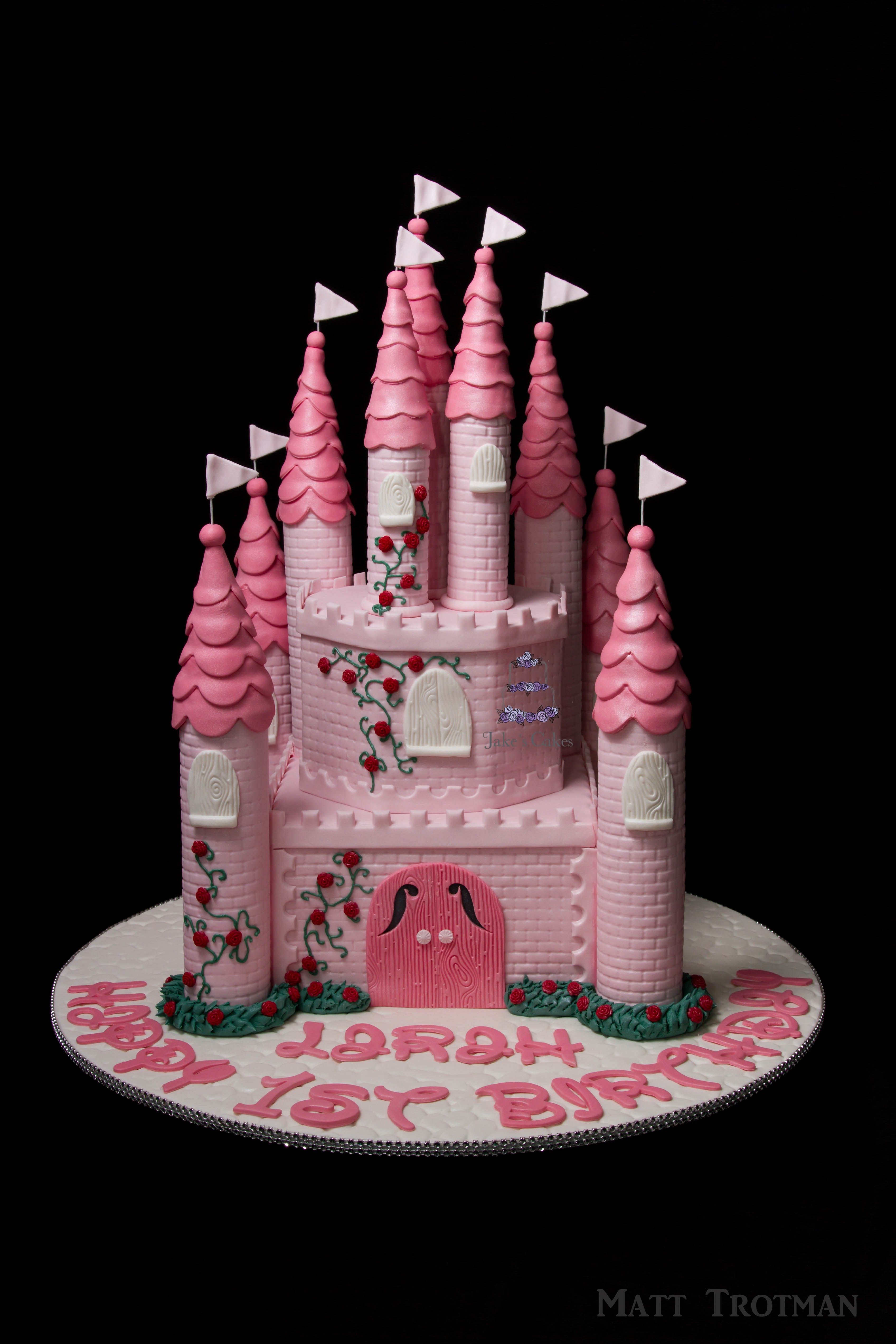 Birthday Cakes A castle cake I made earlier this year I made the