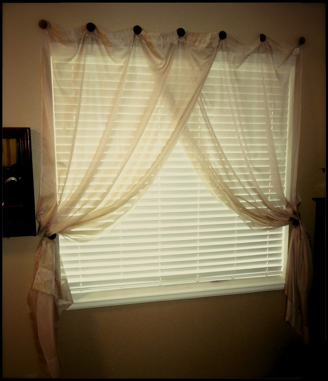 Life Unexpected How To Hang A Curtain Without A Rod PERFECT For Rentals With No Curtain Rods