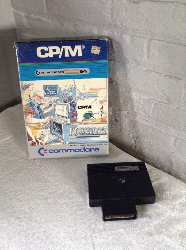 Commodore 64 CP/M 2 2 Z80 Microprocessor Cartridge | Commodore 64