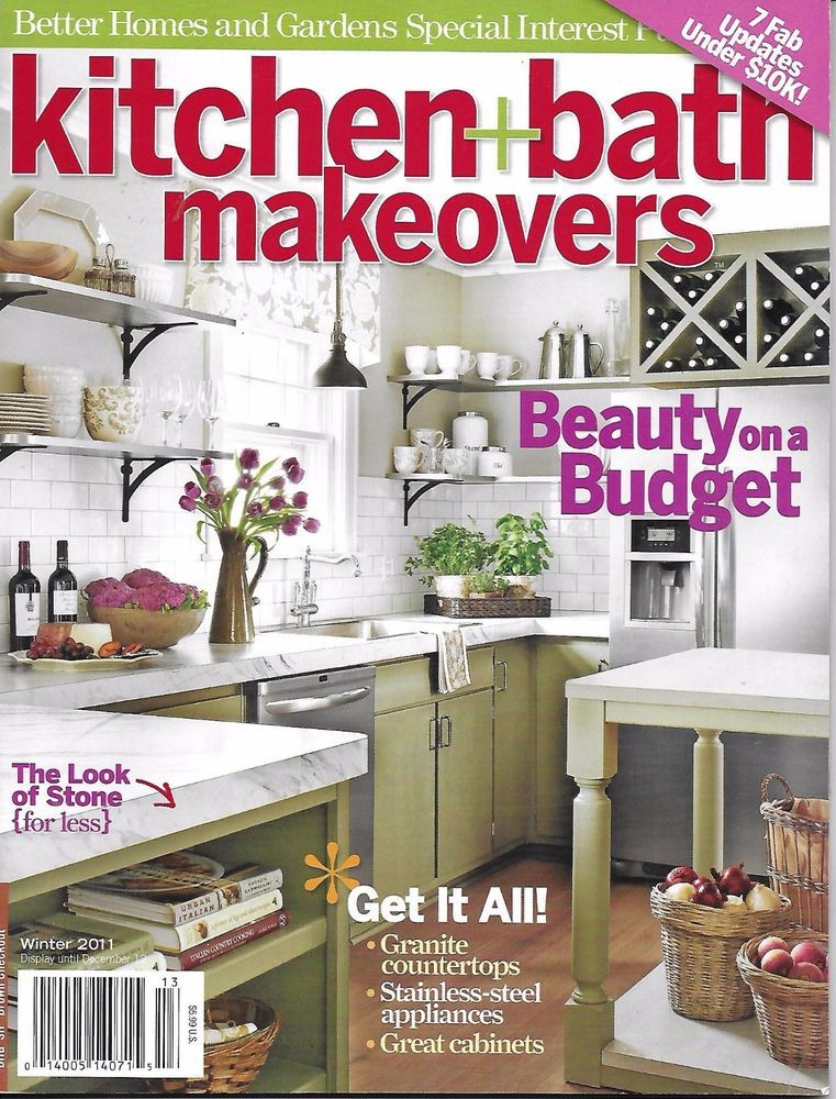 Kitchen and Bath Makeovers magazine Stone Granite ...