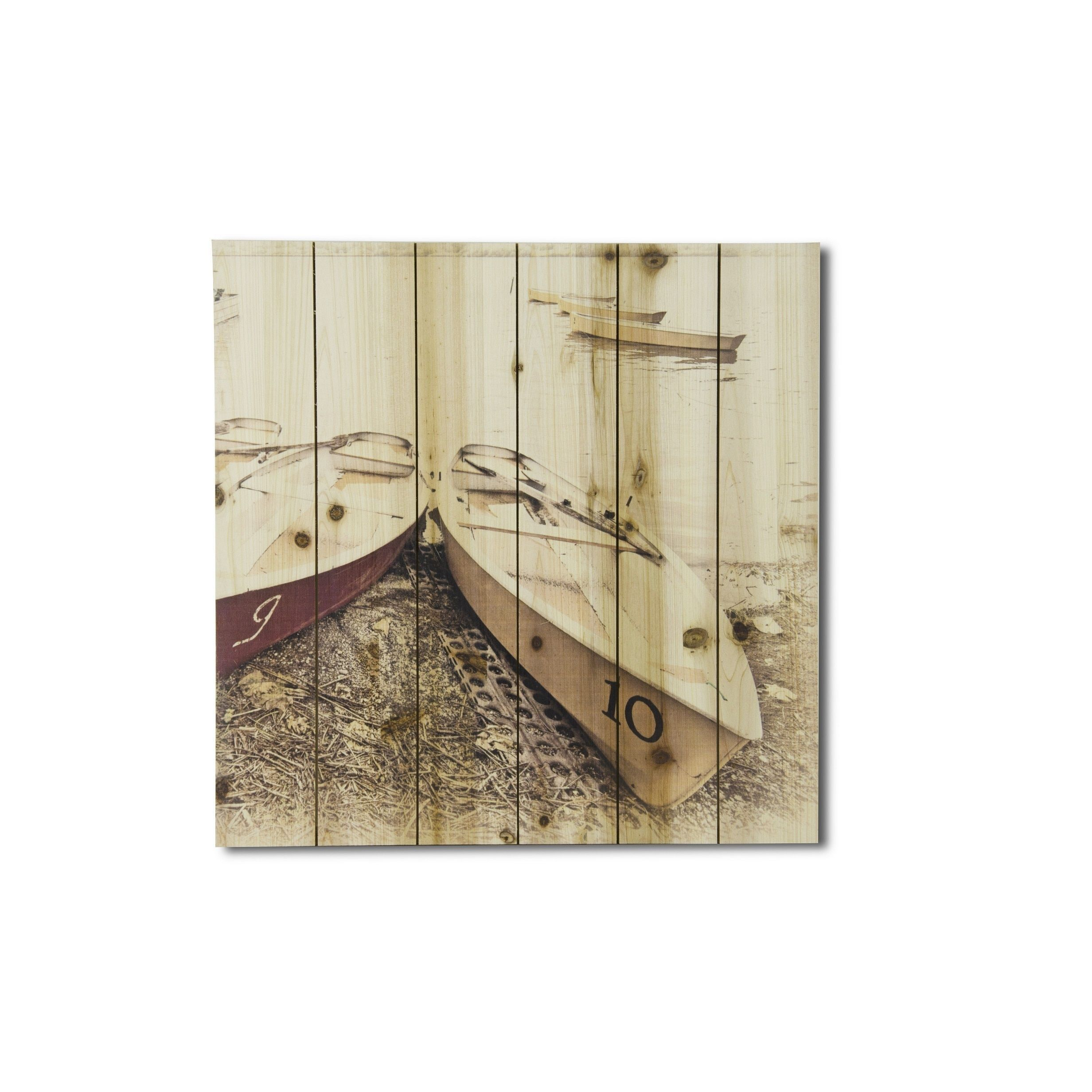 Gallery boats on shore print on wood products pinterest