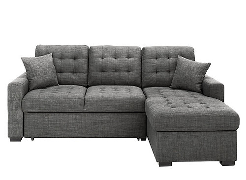 Get Comfy On The Brynn 2 Piece Sleeper Sofa We Love How This Set Has Button Tufting On The Cushions And Storage I In 2020 Chaise Sofa Sleeper Sofa Sofa Bed Guest Room