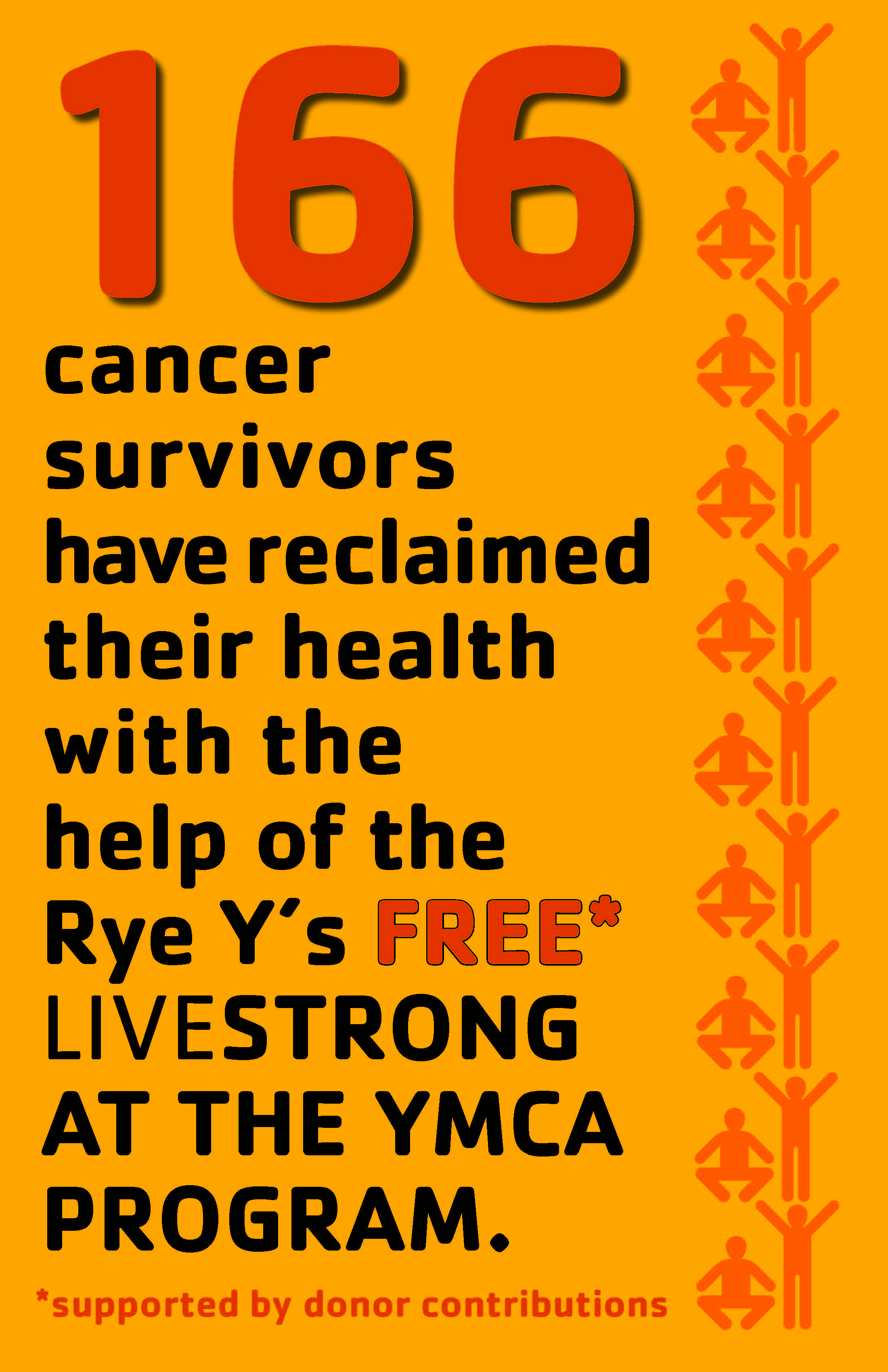Our livestrong at the ymca program is supported by donor