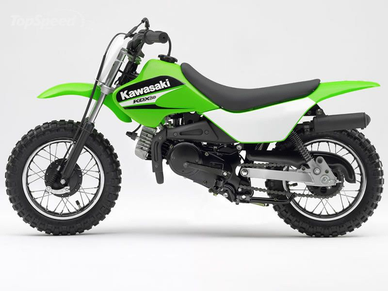 The 450F made many little beginners want to ride. Kawasaki took this