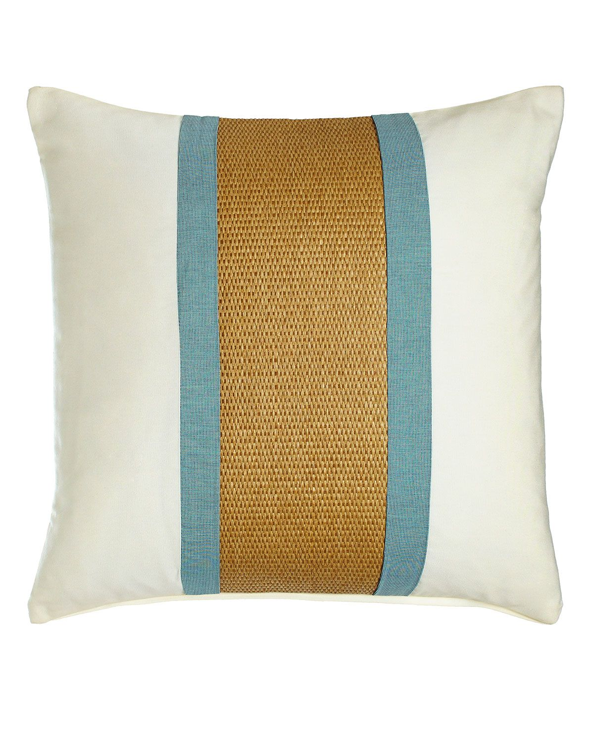 Celadon Broad Stripe Outdoor Pillow Multi Colors Neiman Marcus