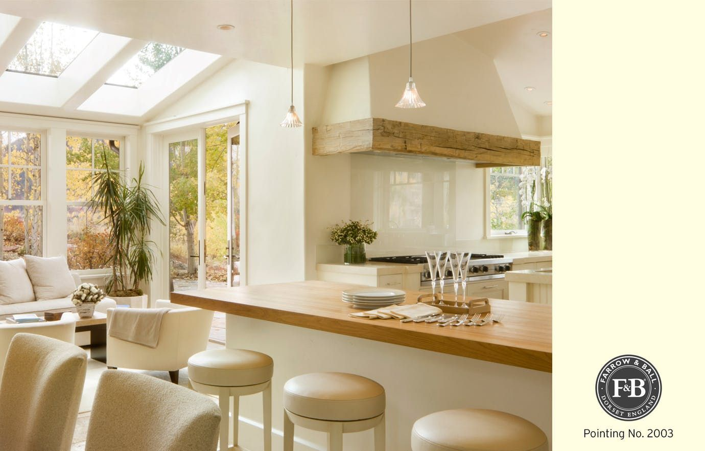 Best Farrow Ball Pointing Trendy Kitchen Kitchen Table 400 x 300