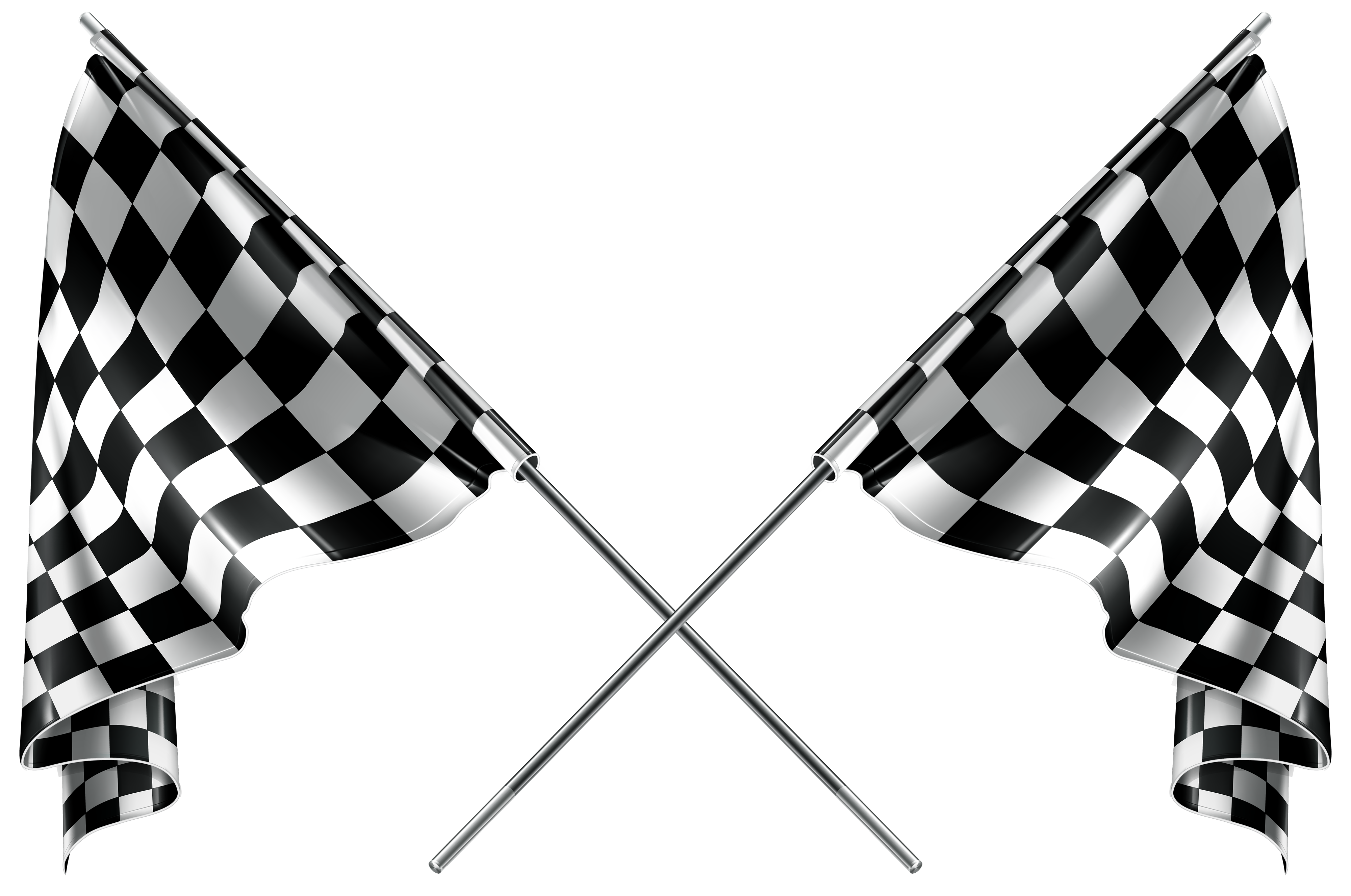 Checkered Flags Clipart Web