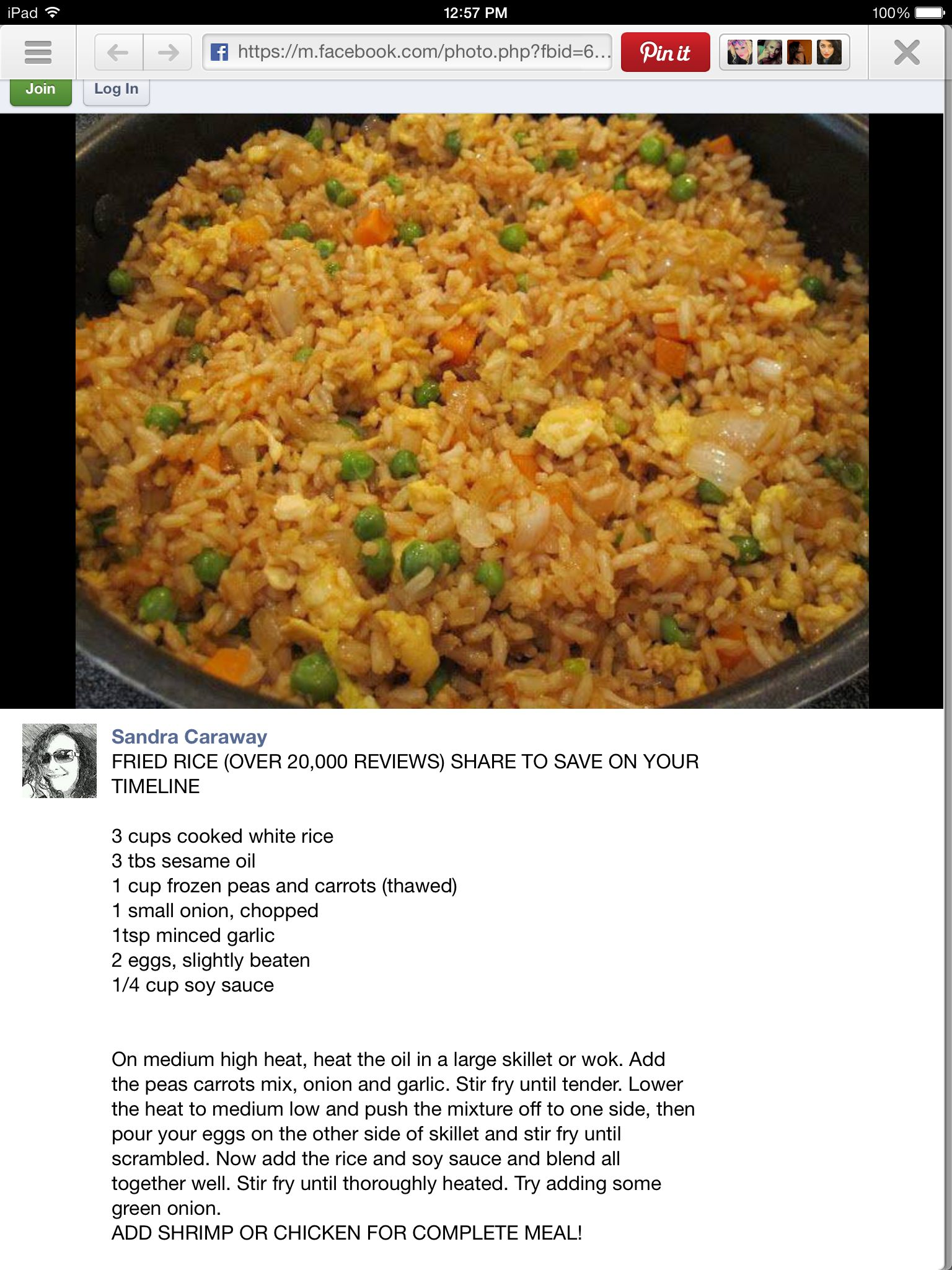 Fried rice loved super easy and so delicious i had a little more fried rice loved super easy and so delicious i had a little more ccuart Choice Image