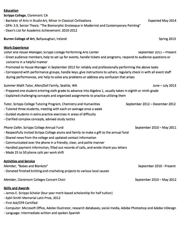 Sample House Manager Resume Examples Resume Cv