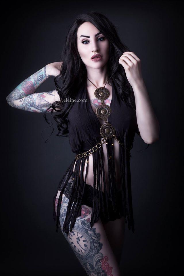 Singer/Model/Edit: Eleine Photo: Rikard Ekberg - Gothic
