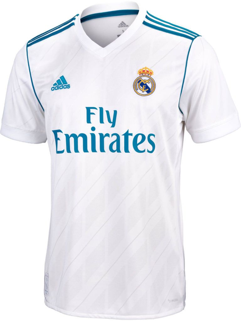 100% authentic 31e60 312cc 2017/18 adidas Kids Real Madrid Home Jersey | Steffany ...