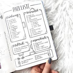 "Marieke on Instagram: ""Here's the second page of my travel edition: my packing list! Do you plan to travel this year? 💓 . . #packinglist #bujoinspo #bujo…"""