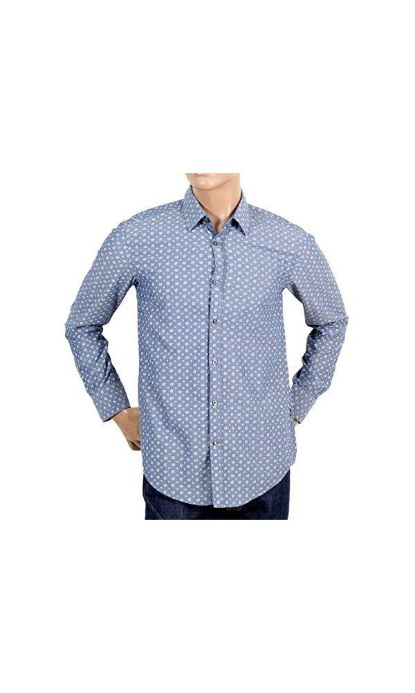 hugo boss black slim fit shirt