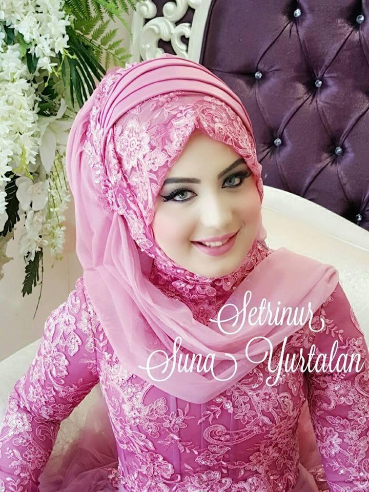 Photo of Fink elegant  #HijabWedding  Fink elegant