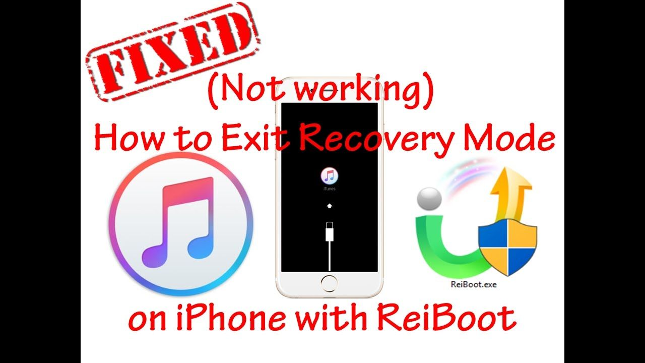 Not Working How To Fix Iphone Recovery Mode Exit Recovery Mode