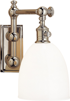 Upstairs Guest Circa Lighting Pimlico Sconces Finish Polished Nickel Qty 2 California Beach