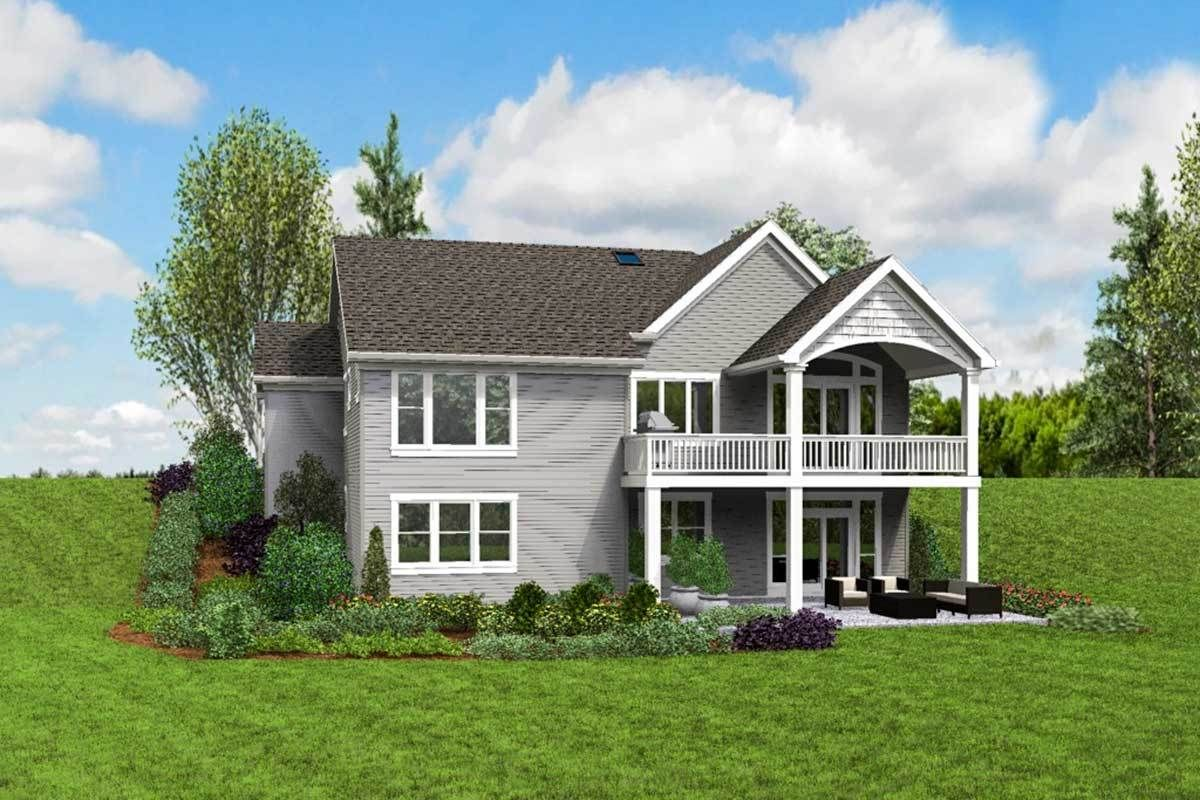 Plan 69661AM Cute Craftsman House Plan with Walkout