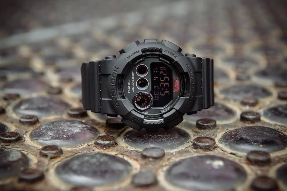 G-Shock GD120MB-1 Stealth Mode-2
