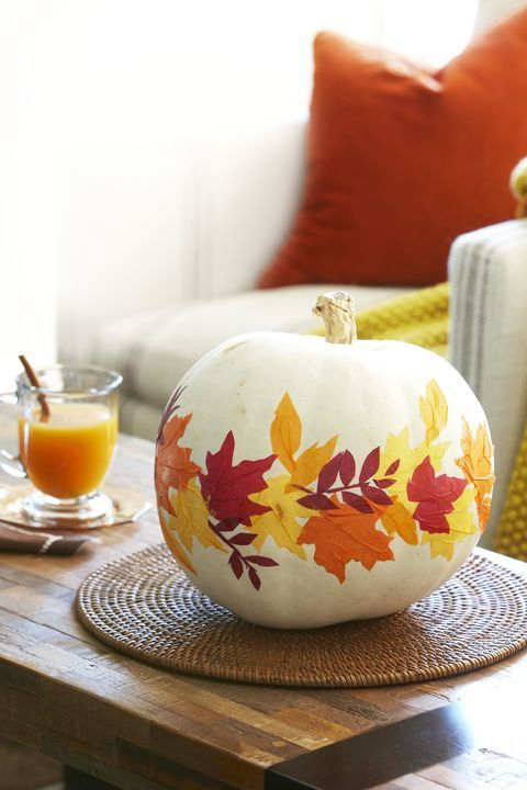 Easy No-Carve Pumpkin Decorating Ideas