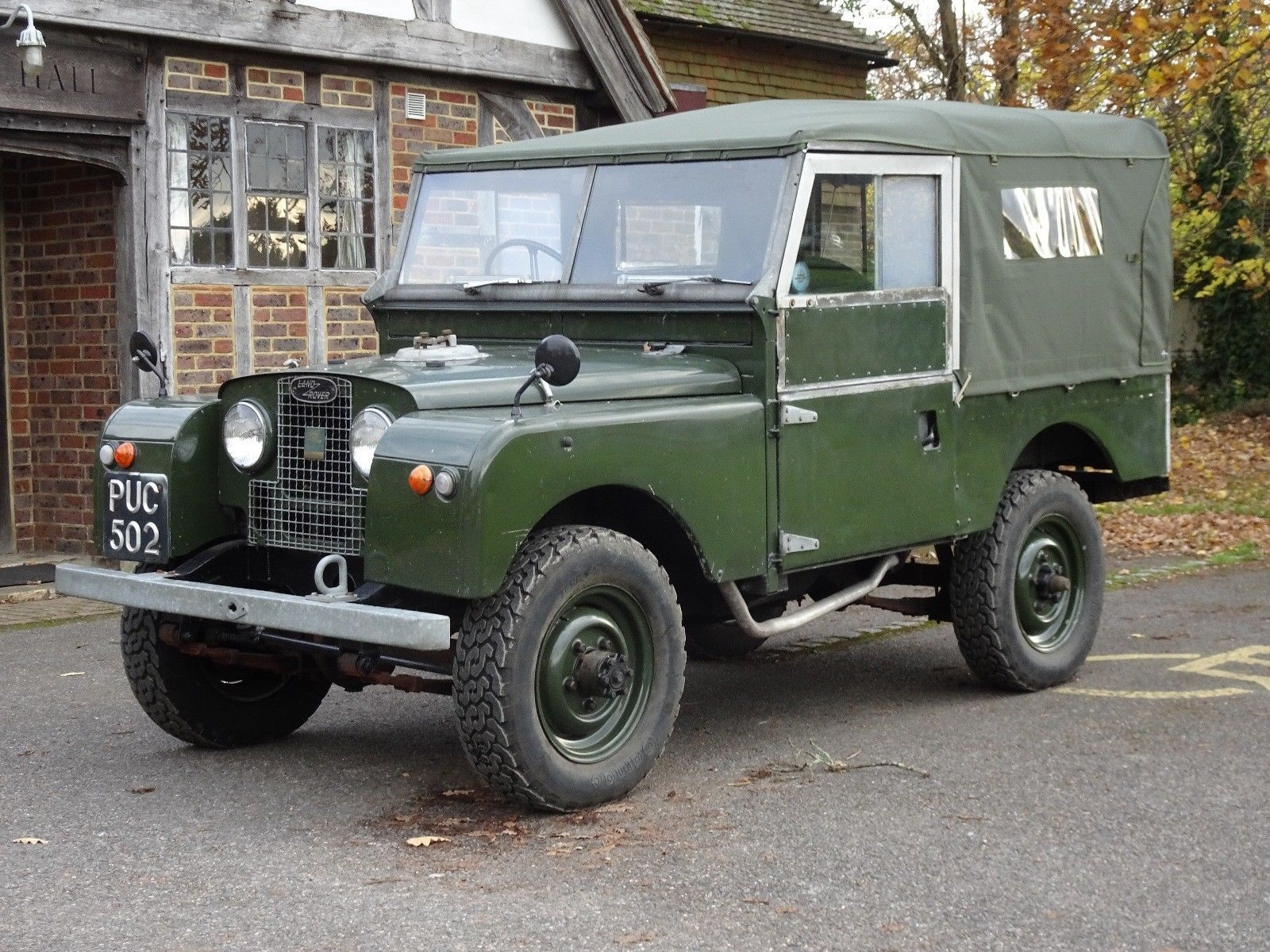 Classic Cars Land Rover Series One 86 1955 Ebay Land Rover