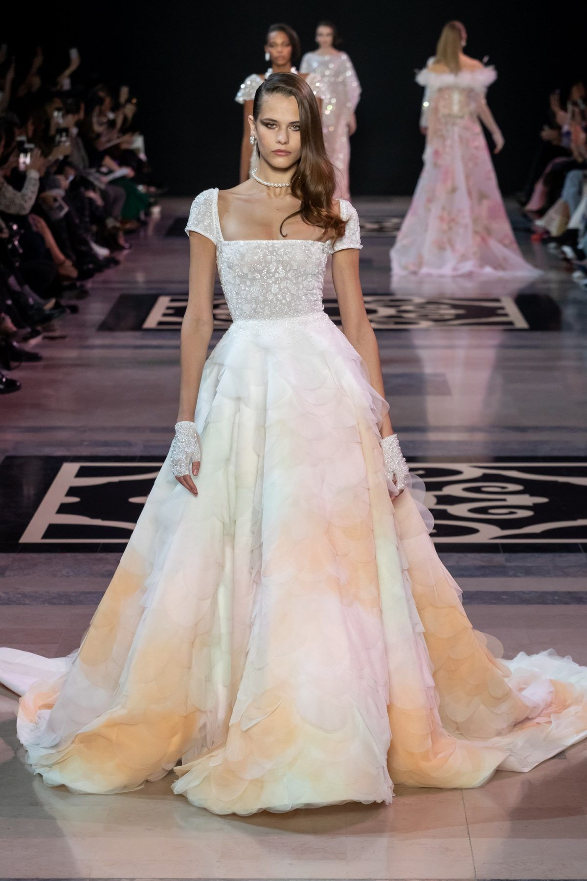 Pin by Precious Star on gown18  Haute couture fashion, Pastel gown