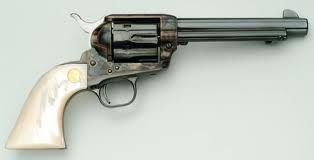Colt SAA .45 with pearl grip