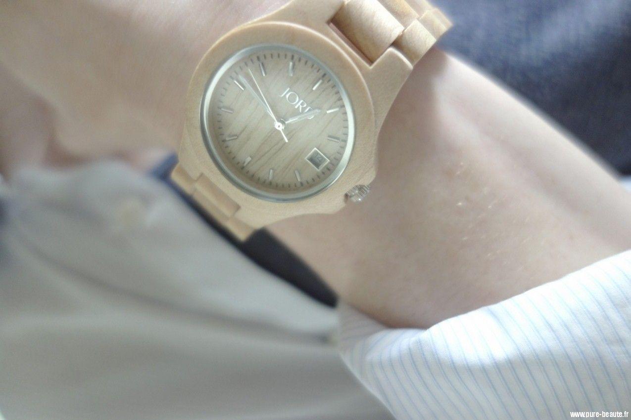 JORD Wood Watch Ely : une montre en bois pour afficher son côté «wild»