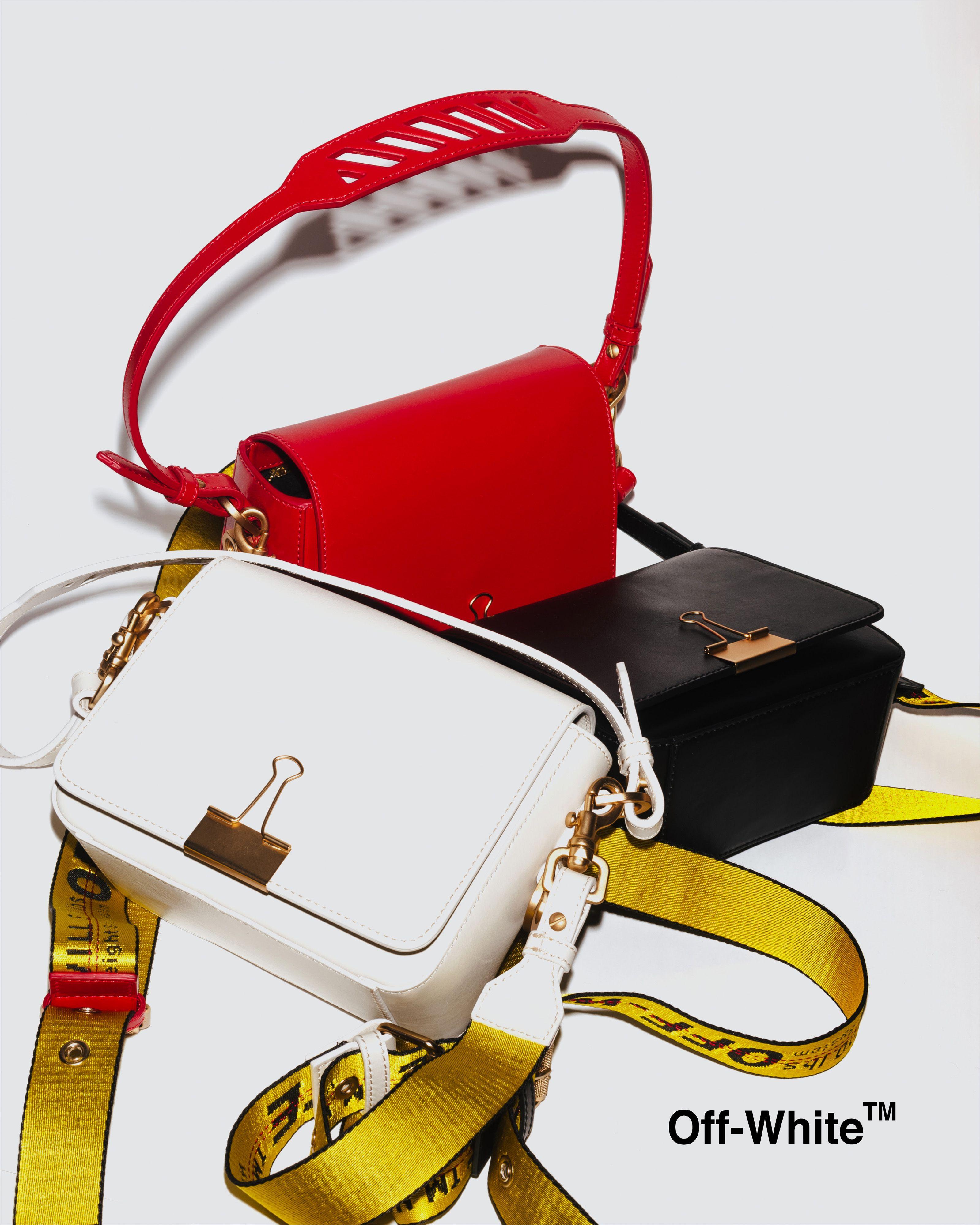 ebe27ad91c66 Off-White c o Virgil Abloh Binder-Clip Shoulder Bag