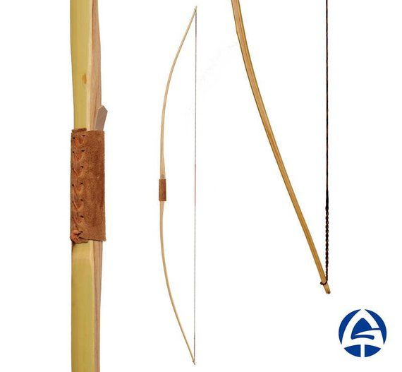 English Traditional Long Bow Wooden Bamboo Laminated Longbow