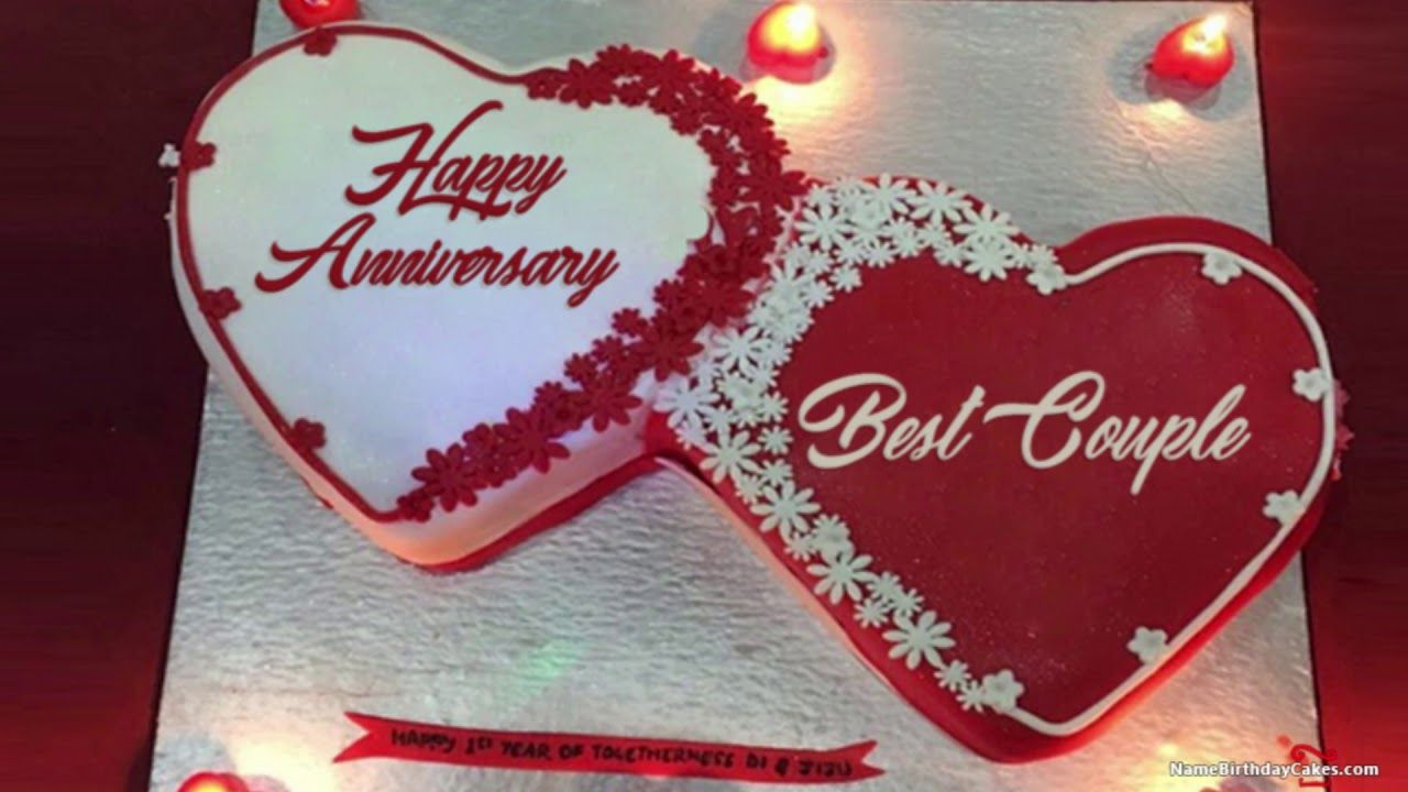 Hy Anniversary Cake Images Whats Status And Wishes