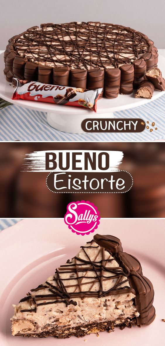 Bueno Torte / ohne Backen / Eistorte / Ice Cream Cake