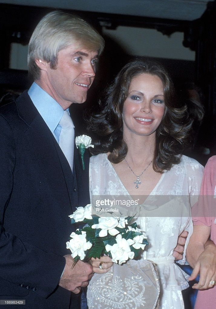 20ca6daf40 Dennis Cole and Jaclyn Smith married in 1978 | Celebrity Weddings in ...