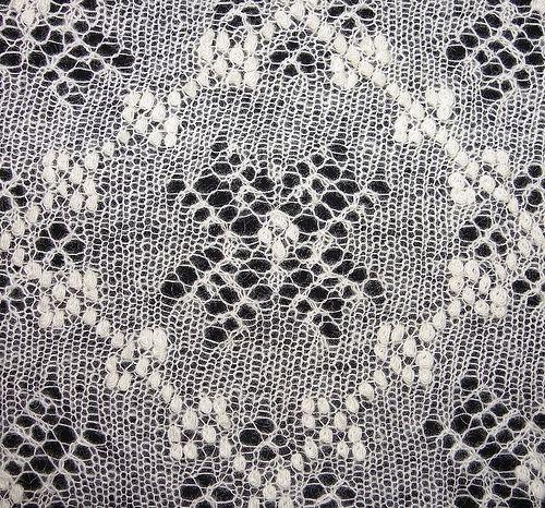 Free Knitting Patterns Free Knitting Pattern Estonian Lace Motif