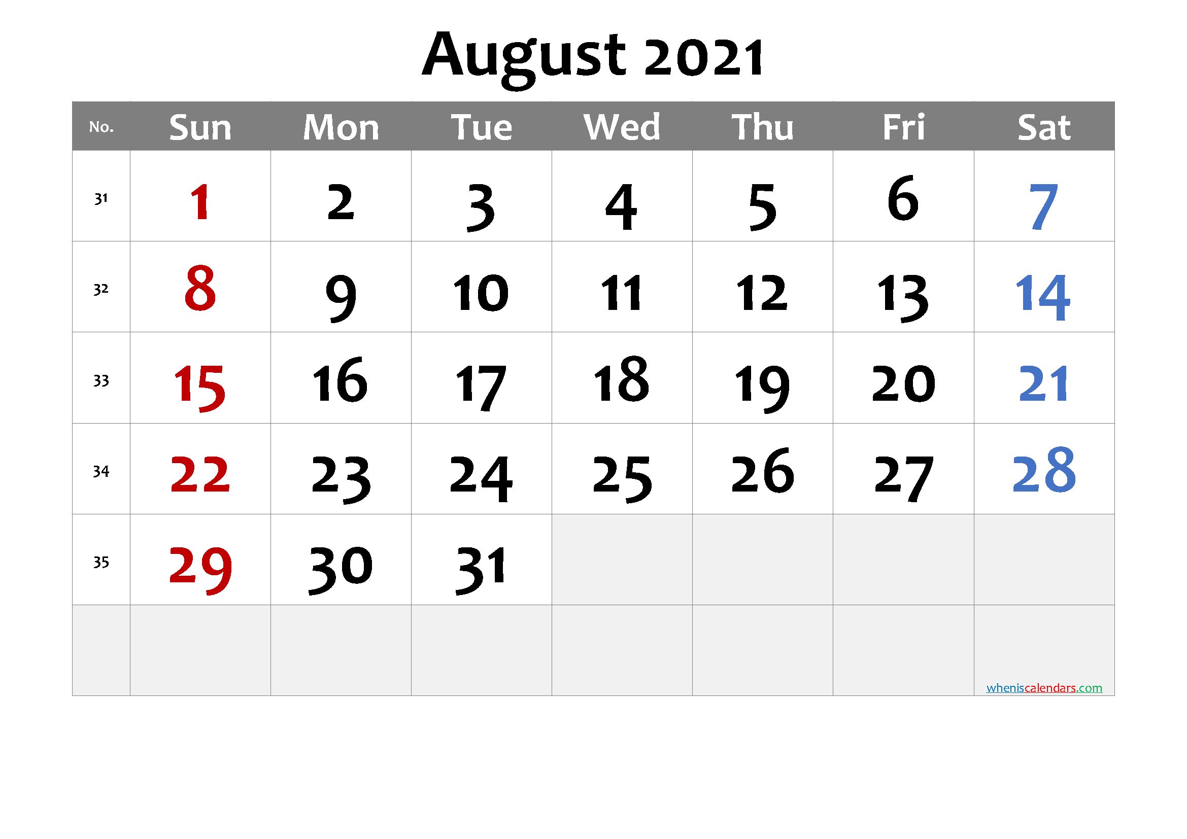 August 2021 Printable Calendar Free Premium In 2020 Calendar Printables March Free Printable Calendar Free Printable Calendar