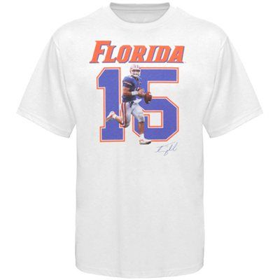 size 40 2fbf4 b54d9 Tim Tebow Florida Gators #15 T-shirt | College Football Gear ...