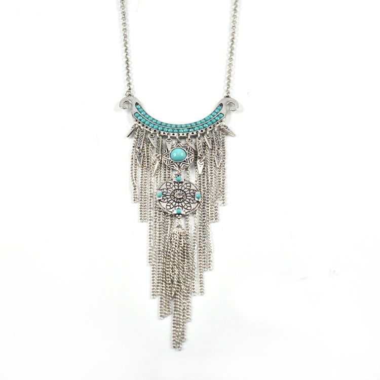 hot selling boho womens jewelry statement moon flowers turquoise resin beads tassels long necklace sweater chains colar bijoux - http://bohemi.co/?products=hot-selling-boho-womens-jewelry-statement-moon-flowers-turquoise-resin-beads-tassels-long-necklace-sweater-chains-colar-bijoux #boho #bohemian #bohoclothes