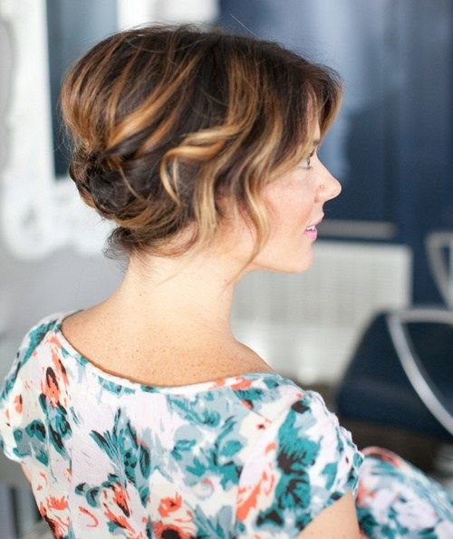 60 Updos For Short Hair Your Creative Short Hair Inspiration