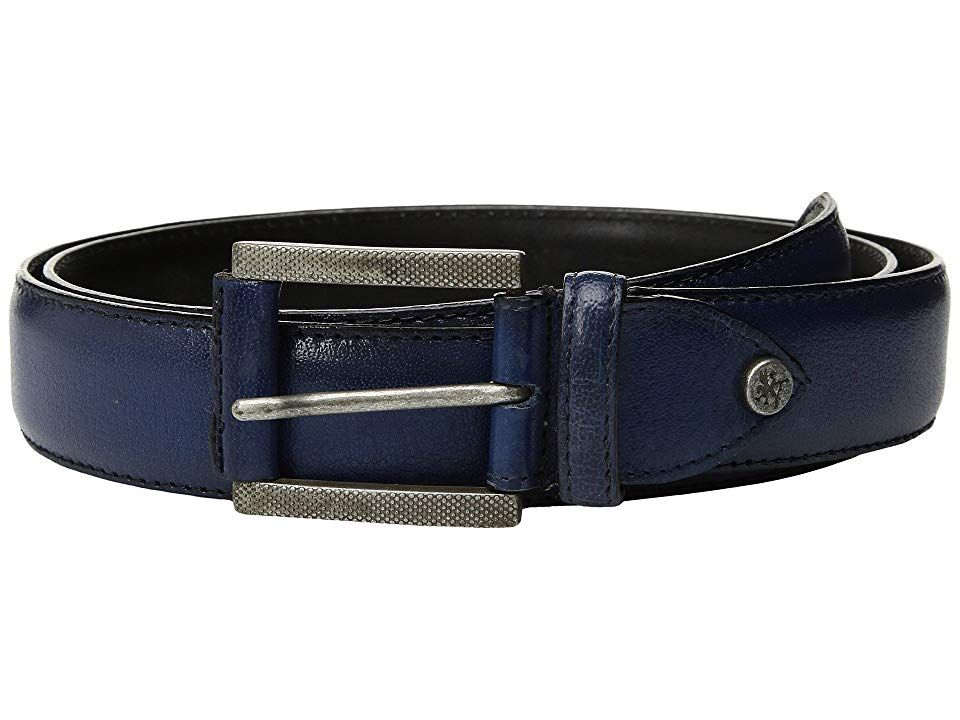 Stacy Adams Matthews Colbalt Mens Belts This Stacy Adams belt will complete your work or formal look in fine sophistication Constructed of full grain leather Single prong...