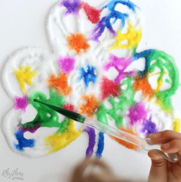Wonderlijk Raised Salt Painting - tekenen met lijm en zout in 2020 | Kids LE-17